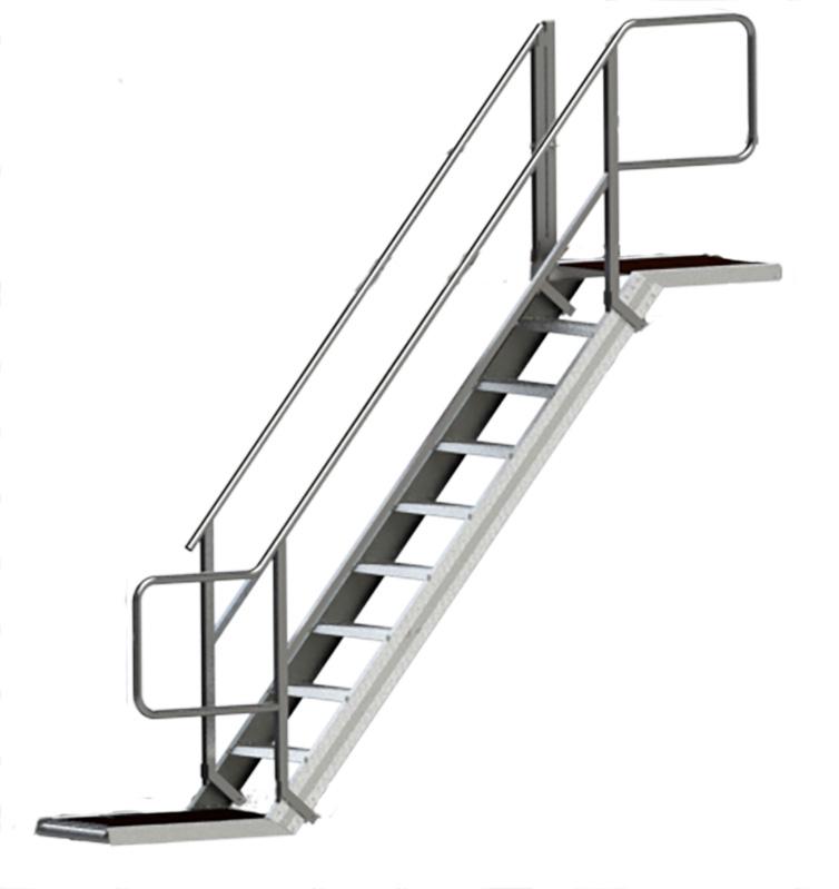 Udbygning trappe - 1430305, 1430250